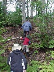 aug30-04-climbing-esker-35-feet