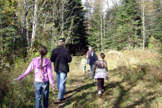 group-hike