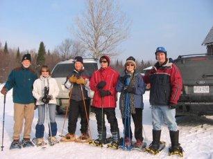 Snowshoe gang